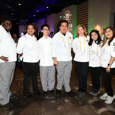 Culinary Institute Students